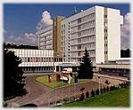 A kórház főépülete.