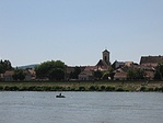 A Duna felől nézve