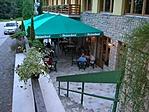 az étterem terasza
