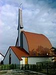 evangélikus templom, Erdőkertes
