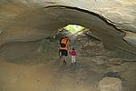 A barlang belseje