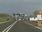A határátkelő magyarországi oldala