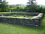 Római őrtorony alapfalai