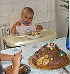 Viktória 1 évesen