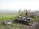 Ide még két bringával is nehezen tekertem fel :)