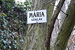 Mária-sziklák Turistainformációs tábla