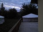 Az udvar, jurtával