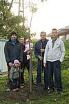 Lidia fája és az ültető csapat 2015.11.05