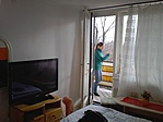 terasz van mindkét szobához