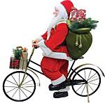 Kerékpárral érkezett