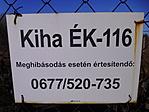 Kiha ÉK-116 olajkút