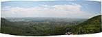 Zsongor-kő, balra a Panoráma út  Forrás: GCPUT ládaoldal