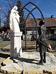 Szent István király-szobor