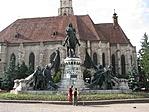Kolozsvár - Mátyás király szobra