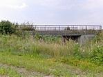 Vasbeton híd Érsekvadkert után