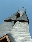 Torony a három fő vallás jelképéve