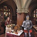 ... középkori étterme...
