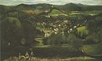 Csontváry Kosztka Tivadar: Selmecbánya látképe, 1902