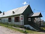 A menedékház éttermének épülete