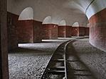Monostori erőd folyosó
