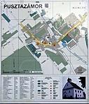Pusztazámor térkép