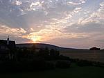 Napkelte az erkélyről