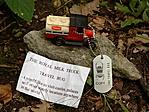 The Royal Milk Truck a Pápalátó kőnél