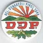 A DDP kitűző