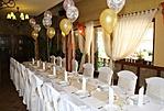 Esküvői asztal