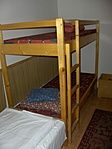 5 ágyas szobában aludtunk