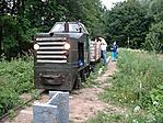 Muki mozdony a kemencei kisvasúton