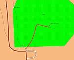 A K+ a térképen