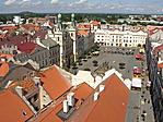 Pardubice - a Perštýnské tér