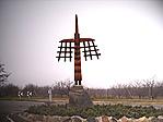 Tálya, a falu bejárata