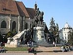 Kolozsvár, Mátyás szobor