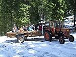Traktorral a Hargitára