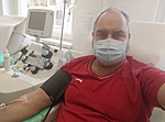 A Mikulás is ad vért.