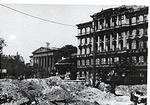 Kálvin tér az 1944-45-ös ostrom után