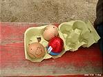 ... a tojástartóban