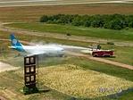 Így mossák a repülőket?
