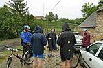 Tanakodás az esőben