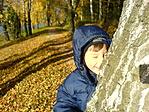 Bújócska az őszi fényben